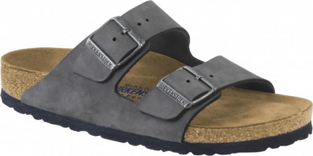 Birkenstock Pantolette Arizona NU Gunmetal SFB Gr. 35 - 43 - 1000637 - Vorschau