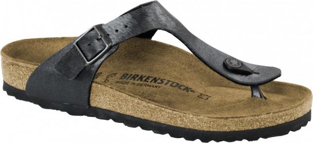 Birkenstock Zehensteg Sandale Gizeh BF animal fascination slate Gr. 35 - 43 - 1006655 - Vorschau