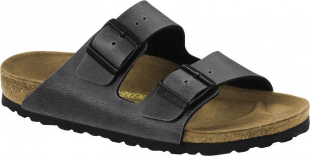 Birkenstock Pantolette Arizona BF pull up anthracite Gr. 35 - 46 1000127