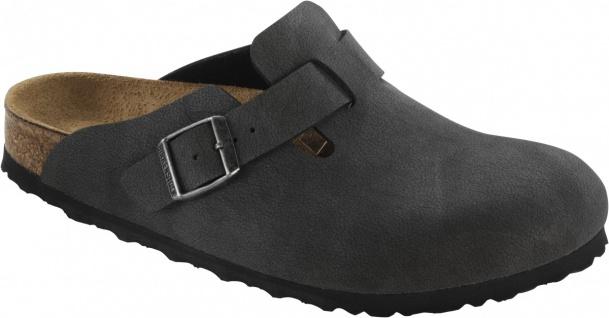 Birkenstock Clog Boston BF Nubuk brushed black Gr. 35 - 46 - 259553 - Vorschau