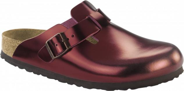 Birkenstock Clog Boston NL WB Metallic Dark Tourmaline Gr. 35 - 43 - 1001661