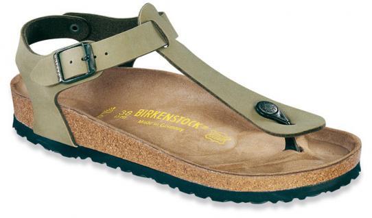 BIRKENSTOCK Zehensteg Sandale Kairo khaki Birko-Flor Gr. 35 - 46 047211 + 047213 - Vorschau