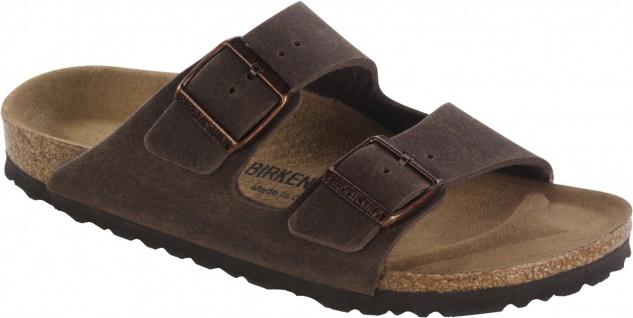 Birkenstock Pantolette Arizona MF cocoa brown Gr. 35 - 46 652391 - Vorschau