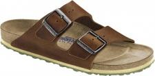 Birkenstock Pantolette Arizona antik brown SFB Naturleder Gr. 35 - 46 1005186