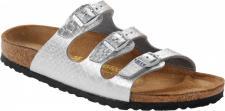 Birkenstock Pantolette Florida BF Anaconda Silver Gr. 35 - 43 - 055983