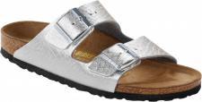 Birkenstock Pantolette Arizona BF Anaconda Silver Gr. 35 - 43 - 752873