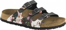 Papillio Pantolette Florida BF painted bloom black Gr. 35 - 43 - 1000465