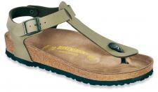 BIRKENSTOCK Zehensteg Sandale Kairo khaki Birko-Flor Gr. 35 - 46 047211 + 047213