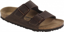 Birkenstock Pantolette Arizona MF cocoa brown Gr. 35 - 46 652391