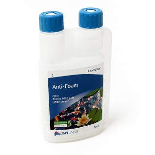 NTLabs Anti Foam gegen Teichschaum 250ml für 4500 l Teichwasser