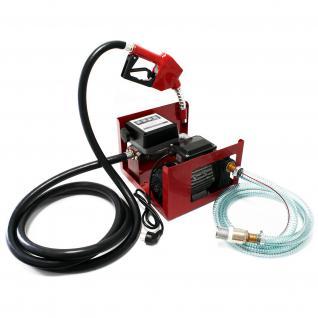 Bio Dieselpumpe Heizölpumpe selbstansaugend 230V/750W 80l/min Pistole