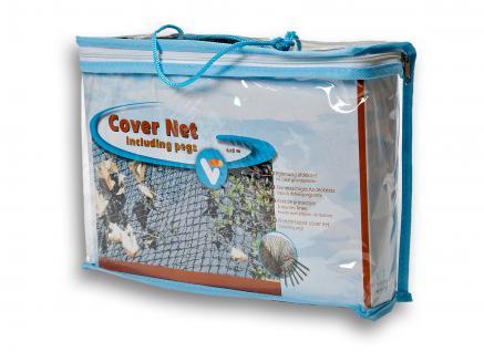 Cover Net, Laubschutznetz, Teichnetz, Abdecknetz 6x3m Fläche: 18m²