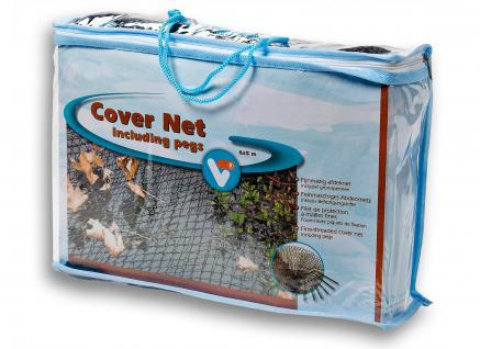 Cover Net, Laubschutznetz, Teichnetz, Abdecknetz 6x5m Fläche: 30m²
