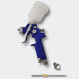 HVLP Lackierpistole Spritzpistole Sprühpistole H2000P 0, 8 0, 5 mm Düse