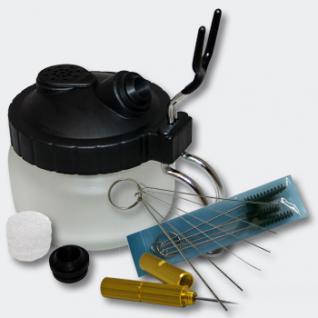 Airbrush Zubehör Reinigungsstation Halter und Reinigungswerkzeug