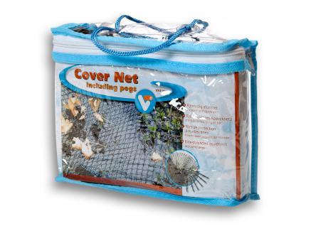 Cover Net, Laubschutznetz, Teichnetz, Abdecknetz 2x3m Fläche: 6m²