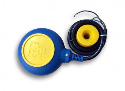 PVC-Schwimmerschalter Pegelschalter Wechselschalter Kabel:2m 250V 16A