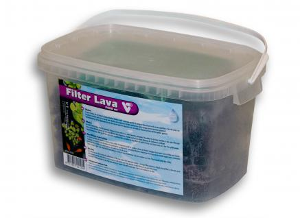 Velda VT Teich Filter Lava im handlichen Eimer 5000ml mit Filternetz