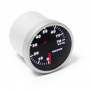 Zusatzinstrument Rundinstrumente SMOKE Vakuumanzeige 0-76cm.Hg