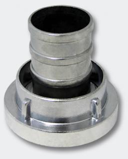 Storz Kupplung mit langem Stutzen 1.5Zoll 42mm Schlauchkupplung Alu
