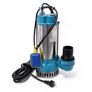 Schmutzwasserpumpe V2200F mit Schwimmerschalter 42000l/h mit 2200W
