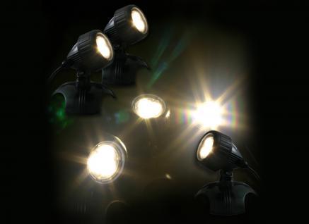 Jebao LED HP6-1 Teichstrahler 3x6W