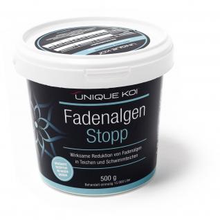 Unique Koi Fadenalgen Stopp 500 g für 15000 l Teichwasser