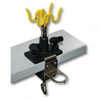 Airbrush Zubehör Pistolenhalter für 4 Pistolen Manometer Tischmontage