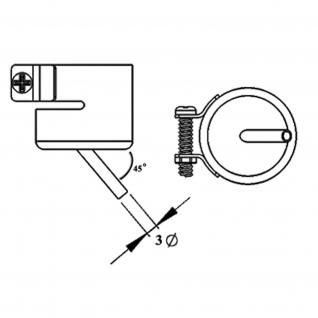 AOYUE [1142] Heißluftdüse Bent Single 1.5x3mm Heißluftstation / Lötst