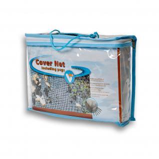 Cover Net, Laubschutznetz, Teichnetz, Abdecknetz 3x4m Fläche: 12m²