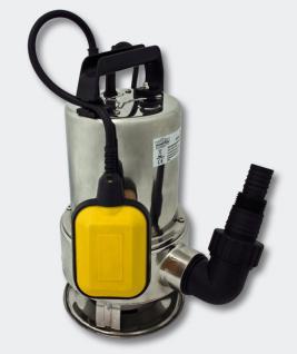 Schmutzwasserpumpe Tauchpumpe - Edelstahl 10.500 l/h / 550 Watt