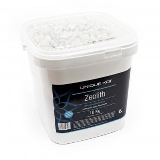 Unique Koi Zeolith 10kg Körnung 9-16mm Filtermedium Phosphatbinder
