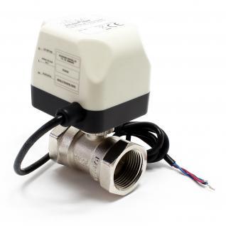 "2-Wege Motor-Zonenventil Umschalt- Kugelventil 220VAC DN25 25mm (1"")"
