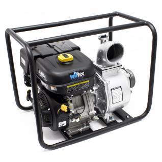 """LIFAN Benzin Wasserpumpe 80m³/h 26m 6.6kW(8.9PS) 100mm (4"""") Pumpe"""