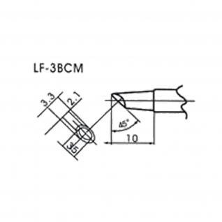 AOYUE WQ/LF-3BCM bleifreie Lötspitze für Lötkolben Flow Type