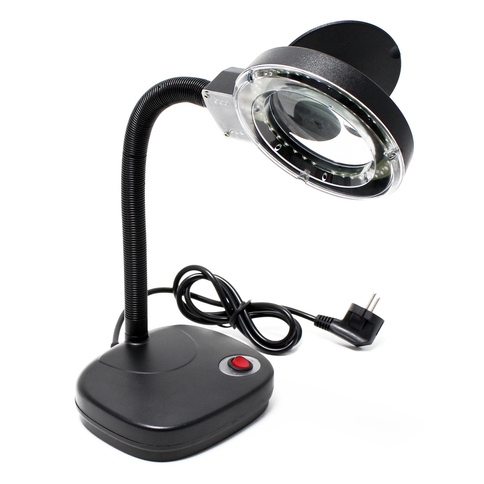 aoyue 927 led lupenlampe arbeitslampe lupe kaufen bei wiltec wildanger technik gmbh. Black Bedroom Furniture Sets. Home Design Ideas