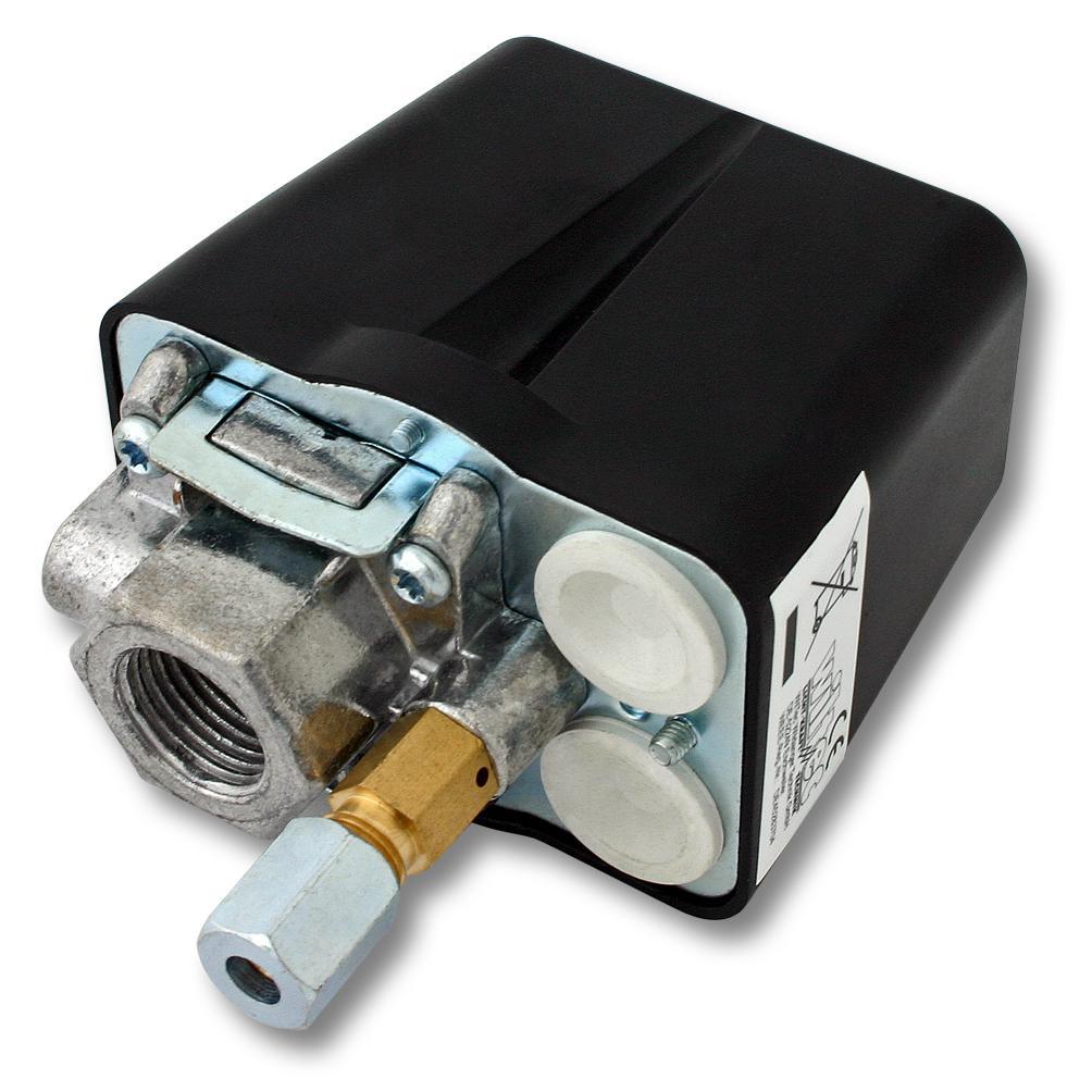 druckschalter f r kompressor luftkompressoren 3 phasig 230v 380v kaufen bei wiltec wildanger. Black Bedroom Furniture Sets. Home Design Ideas