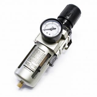 """Druckminderer mit Filter und Manometer 20, 67 mm (1/2"""") IG Druckregler"""