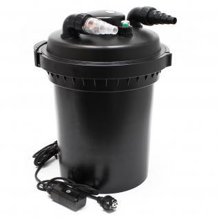 SunSun CPF-380 Druckteichfilter mit UVC 11W für Teiche bis 12000l