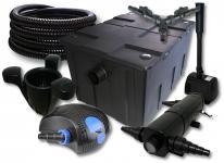 SunSun Filter 60000l 18W UVC 100W Pumpe Schlauch Skimmer Springbrunnen