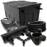 SunSun FilterSet 60000l Teich 36W Klärer, 80W Pumpe Schlauch Skimmer