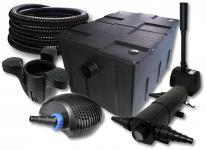 SunSun Filter 60000l 24W UVC, 40W Pumpe Schlauch Skimmer Springbrunnen