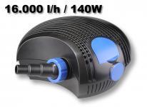 SunSun CTF1600B SuperEco Teichpumpe Filterpumpe Pumpe 16000l/h 140W