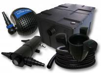 Filter Set Bio Teichfilter 60000l 24W UVC Teichklärer Pumpe Skimmer