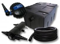 Filter Set Bio Teichfilter 60000l SuperEco Pumpe 24W UVC Teichklärer