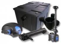1-Kammer FilterSet 60000l 36W UV Klärer Pumpe Springbrunnen Skimmer