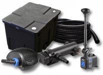 1-Kammer FilterSet 12000l 18W UV Klärer Pumpe Schlauch Springbrunnen