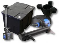 1-Kammer FilterSet 12000l 36W UV Klärer Pumpe Springbrunnen Skimmer