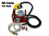 Bio Dieselpumpe Heizölpumpe selbstansaugend 12V/150W 40l/min Pistole