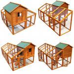 Hühnerhaus Hühnerstall variabel aufstellbarem Freilauf Holz